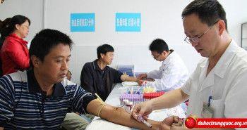 Mẫu giấy khám sức khỏe của Bộ Y Tế Trung Quốc