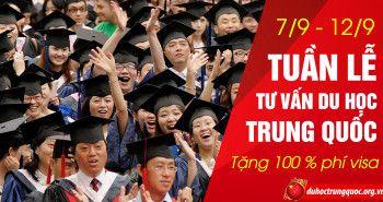Tưng bừng tuần lễ du học Trung Quốc