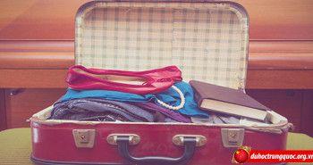 Hành lý cần chuẩn bị khi du học Trung Quốc