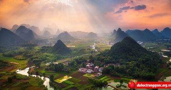Vẻ đẹp thiên nhiên và con người Quế Lâm