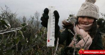 Nhiều vùng ở Trung Quốc trải qua đợt lạnh kỷ lục trong 60 năm
