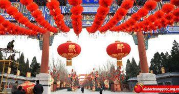 Trung Quốc rộn ràng đón tết nguyên đán 2016