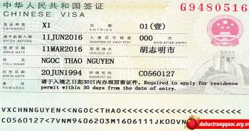 Tin Visa Nguyễn Ngọc Thảo – Đại học KHKT Điện tử Quế Lâm