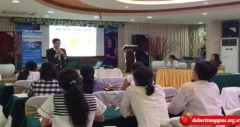 """Tổng kết Hôi thảo """"Du học Trung Quốc 2016 – Định hướng tương lai"""" cùng Vinahure tại Hải Phòng ngày 17.7.2016"""