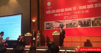 Vinahure tham dự buổi Triển lãm giáo dục Quảng Tây – Trung Quốc 2016