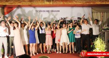Tổng kết Kỉ niệm 10 năm thành lập Công ty tư vấn du học Vinahure