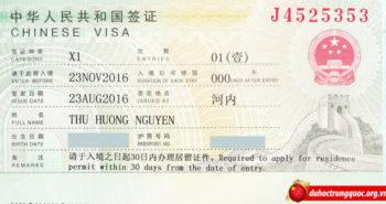 Tin visa: Nguyễn Thu Hương nhận học bổng toàn phần chính phủ Trung Quốc hệ thạc sĩ trường Đại học KHKT điện tử Quế Lâm