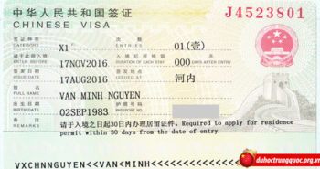 Tin visa: Nguyễn Văn Minh nhận học bổng thạc sĩ toàn phần chính phủ Trung Quốc tại Đại học Sư phạm Tương Nam – Giang Tây