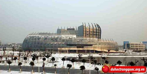 Đại học Đông Hoa vào mùa đông