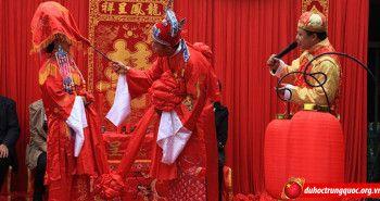 Nghi thức cưới hỏi của người Hoa