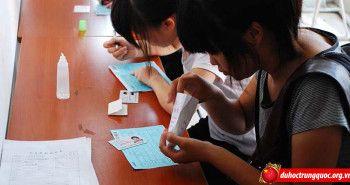 Mẫu đơn xin học bổng thành phố Thượng Hải loại B