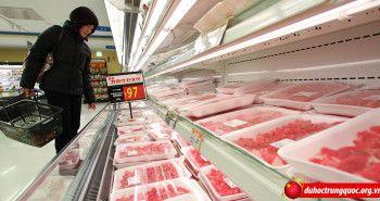 Trung Quốc tịch thu hơn 1.000 tấn thịt lợn nhiễm xạ