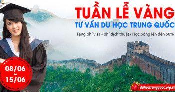 Tuần lễ vàng tư vấn du học Trung Quốc