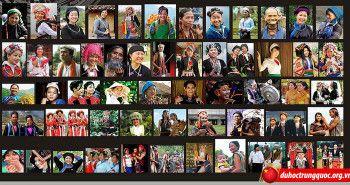 Từ vựng về 54 dân tộc Việt Nam
