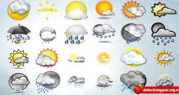 Từ vựng về chủ đề thời tiết