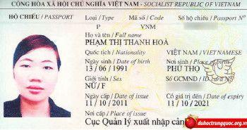 Tin visa: Phạm Thị Thanh Hòa – Đại học khoa học kỹ thuật điện tử Quế Lâm