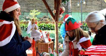 Hội chợ giáng sinh nhộn nhịp nhất Trung Quốc
