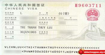 Tin visa Lưu Thị Thanh Thủy – Đại học khoa học kỹ thuật điện tử Quế Lâm