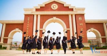 Du học Trung Quốc miễn phí | Học bổng toàn phần trường Đại học Khâm Châu