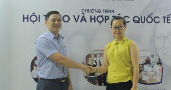 Trường Đại học Khâm Châu – Quảng Tây sang thăm và làm việc tại Vinahure