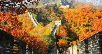 Đẹp đến nao lòng mùa thu ở Bắc Kinh Trung Quốc