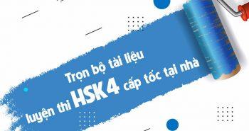 Trọn bộ cẩm nang ôn thi HSK4