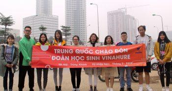 Chúc mừng học sinh Vinahure sang nhập học Trùng Khánh đợt cuối kỳ tháng 3